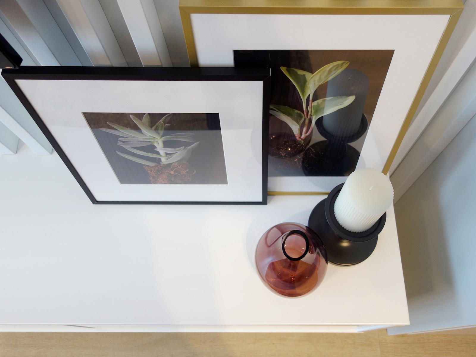 7 architekt wnetrz R078 mieszkanie siemianowice slaskie detal szafka rtv dekoracje w salonie