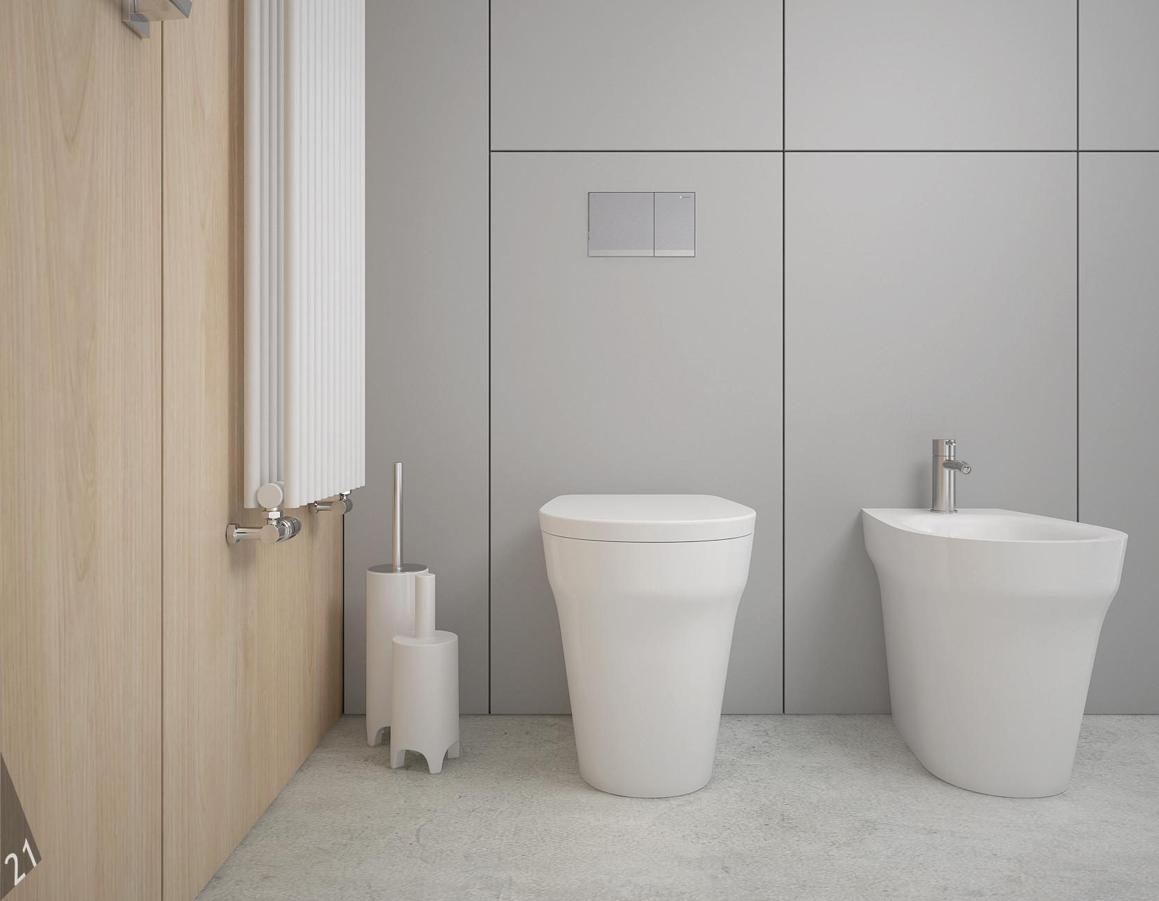 9 projektant wnetrz D372 dom z antresola katowice lazienka miska wc bidet zabudowa stelaza meblowa grzejnik dekoracyjny